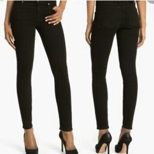 Citizens of Humanity Thompson black skinny jeans